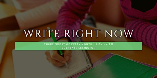 Write Right Now! January