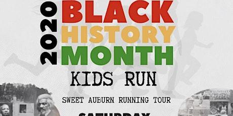2020 Sweet Auburn Black History Kids Running Tour tickets
