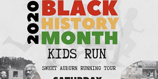 2020 Sweet Auburn Black History Kids Running Tour