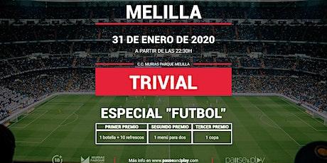 Trivial Especial Futbol en Pause&Play Melilla entradas