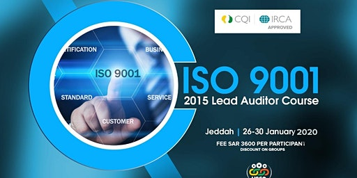 ISO 9001 Lead Auditor Course (IRCA-CQI approved)