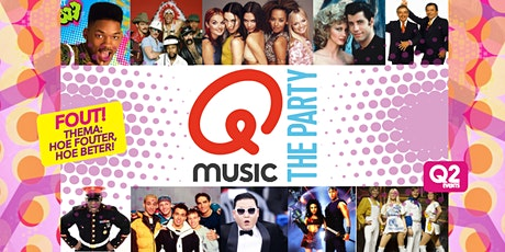 Qmusic The Party FOUT - Roosendaal billets