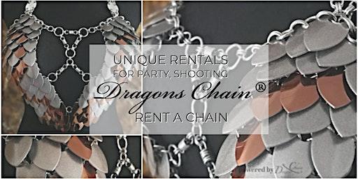 Rent A Chain - Silber / Bronze Glitter