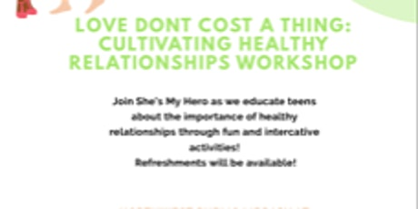 Healthy Relationships Seminar: Cultivating Healthy Relationships tickets