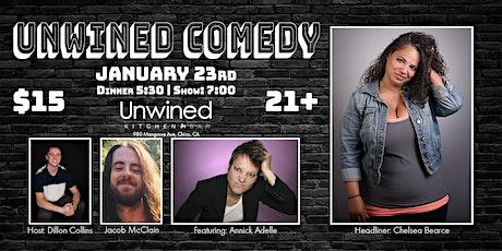 Unwined Comedy: Chelsea Bearce tickets
