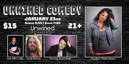 Unwined Comedy: Chelsea Bearce