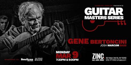 Guitar Masters Series: Gene Bertoncini tickets