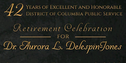 Retirement Celebration for  Dr. Aurora L. Delespin-Jones