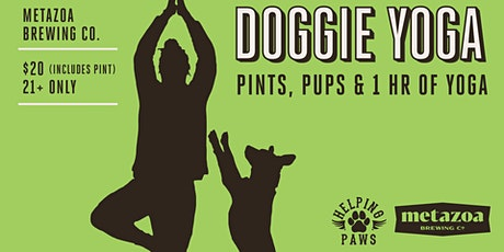Doggie Yoga: Pups, Pints and Yoga Series at Metazoa Brewing Co. tickets