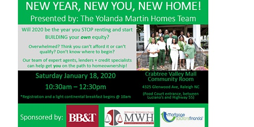 Home Buyer Seminar - New Year, New You, New Home!