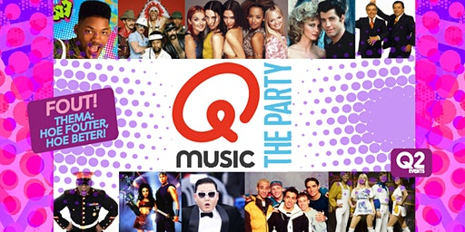 Qmusic The Party FOUT - Oisterwijk