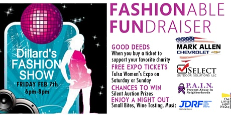 Fashionable Fundraiser at the 2020 Tulsa Women's Expo With A Cause tickets