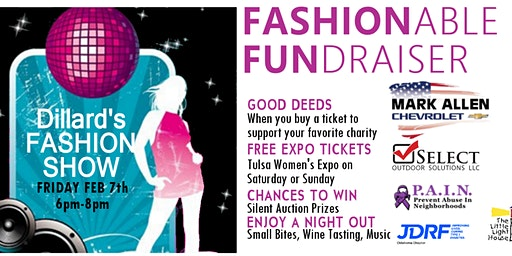 Fashionable Fundraiser at the 2020 Tulsa Women's Expo With A Cause