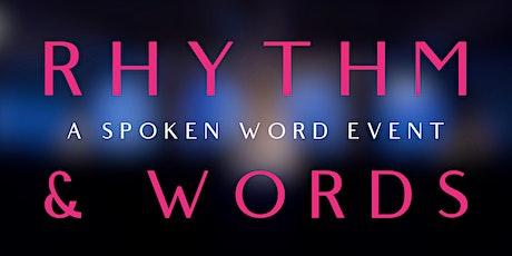 Rhythm & Words: A Spoken Word Event tickets