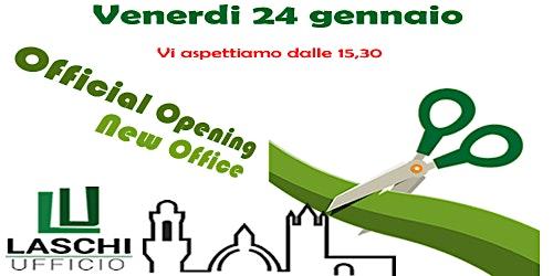 Inaugurazione Laschi Ufficio