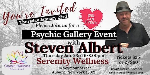 Steven Albert: Psychic Gallery Event - Serenity1/23