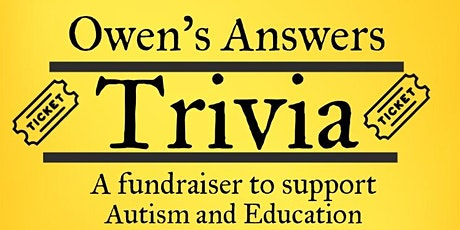 Owen's Answers for Autism tickets