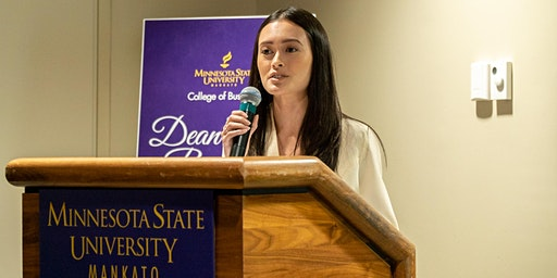 Fall 2020 College of Business Dean's List Reception