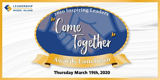 "LRI's 2020 Inspiring Leaders ""Come Together"" Award"