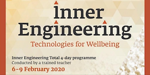 Free introductory talk to 4 day Inner Engineering Program in Copenhagen