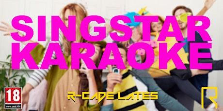 R-CADE Lates: Singstar Karaoke tickets