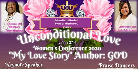 "Unconditional Love ""John 3:16""  Women's Conference 2020 tickets"