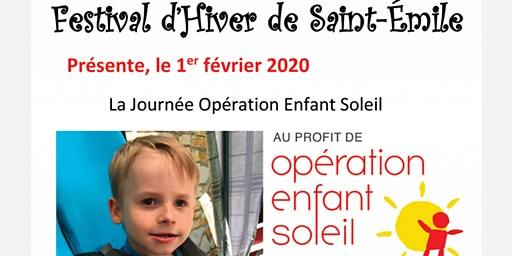 Soirée bénéfice Enfant-Soleil Emrick Blanchette