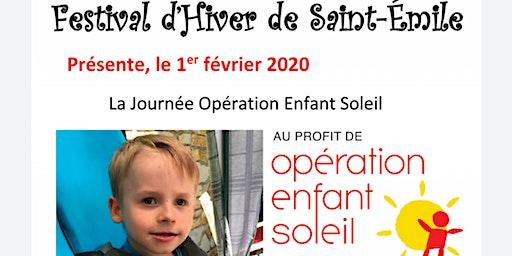 Dîner bénéfice Enfant Soleil Emrick Blanchette