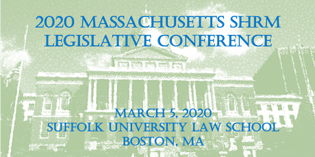 2020 MassSHRM Legislative Conference tickets