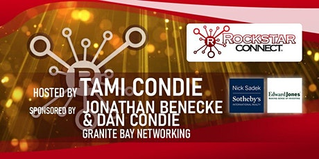 Free Granite Bay Rockstar Connect Networking Event (January, near Sacramento) tickets