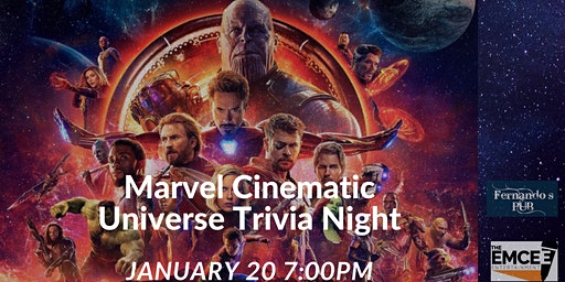 Marvel Cinematic Universe Trivia Night