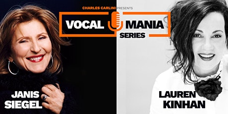 Jazz Vocal Mania Series with Janis Siegel and Lauren Kinhan tickets