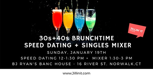30s+ 40s Brunchtime Speed Dating + Singles Mixer