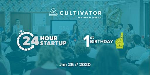 Cultivator's 1st Birthday!