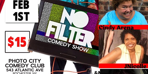 Joel James Presents-NO Filter Comedy Show