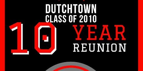 Dutchtown High School C/O 2010 Reunion  tickets