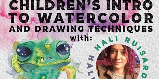 Children's Watercolor and Drawing Lessons ✍️