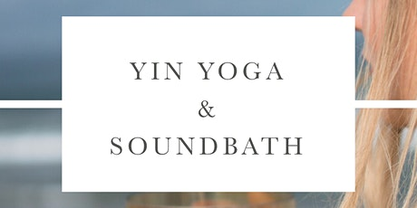 Yin Yoga & Soundbath with Alchemy Crystal Bowls w// Flo & Alizz Tickets