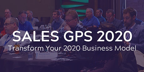 Sales GPS Conference 2020 tickets