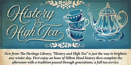 History and High Tea tickets