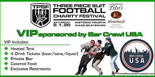 Three Piece Suit Football Charity Festival - VIP Reception
