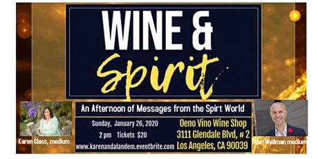 Wine and Spirit: An Afternoon of Mediumship tickets
