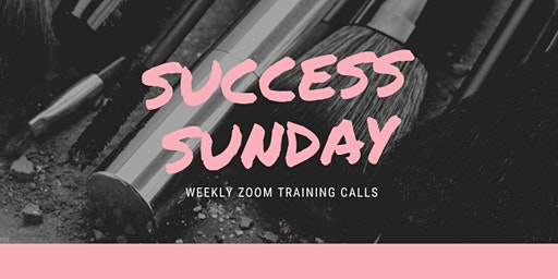 Success Sunday Zoom Training Calls!