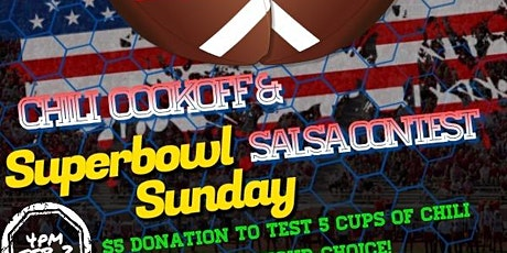 Superbowl Sunday Chili Cookoff & Salsa Contest tickets