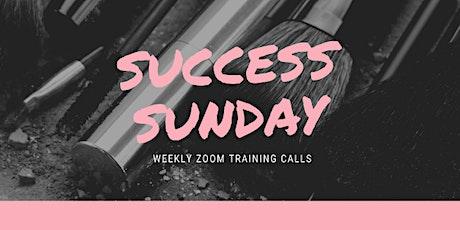 Success Sunday Zoom Training Calls! tickets