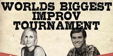 World's Biggest Improv Tournament: January 27th 8:30pm tickets