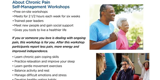 Free Chronic Pain Self-Management Workshop
