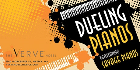 Dueling Pianos featuring Savage Pianos at The VERVE Hotel, Natick, MA tickets