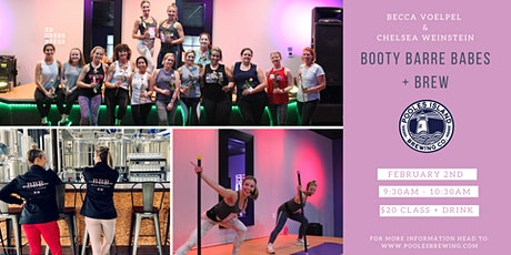 Booty Barre Babes + Brews tickets