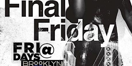 ThoseGuyz: Fridays at Brooklyn on U tickets